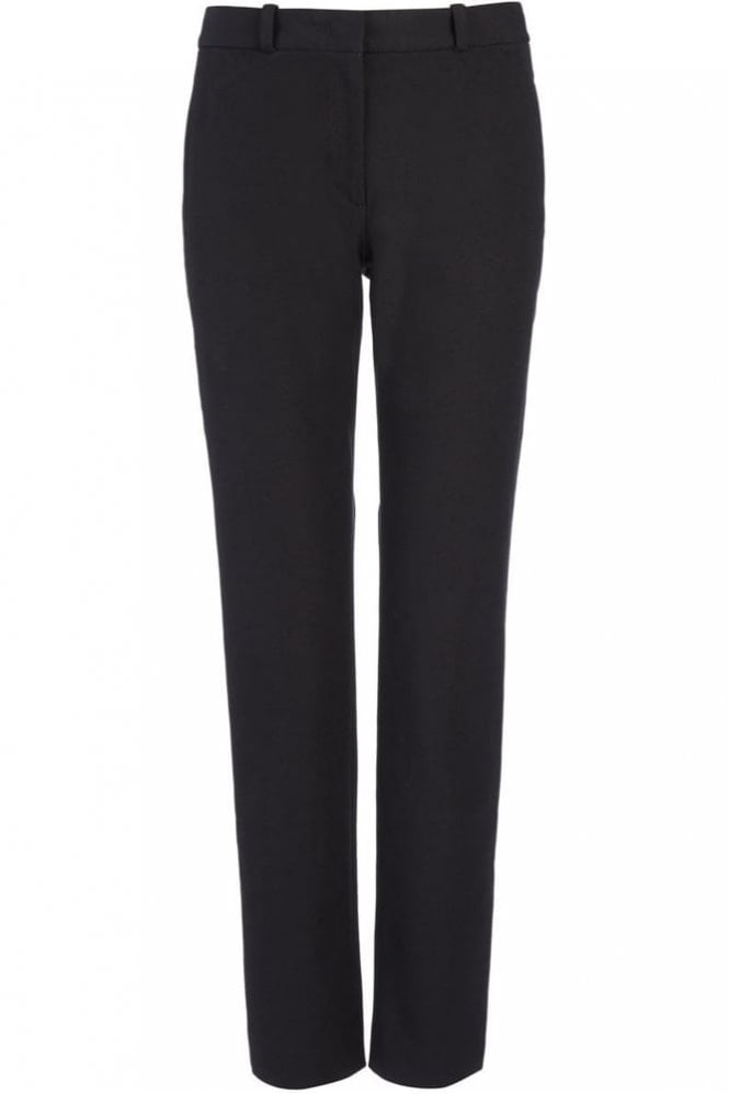 Joseph Gabardine Stretch New Eliston Trouser in Black