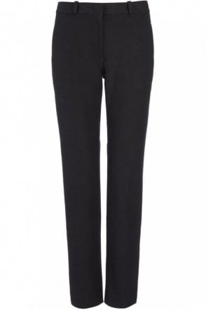 Gabardine Stretch New Eliston Trouser in Black