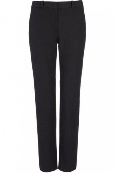 Gabardine Stretch New Eliston Trouser in Black