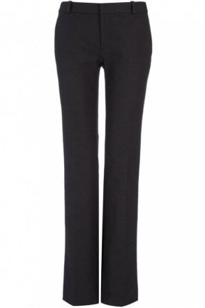 Gabardine Stretch New Rocket Trouser in Black