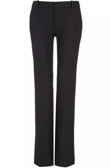 Gabardine Stretch New Rocket Trouser in Black