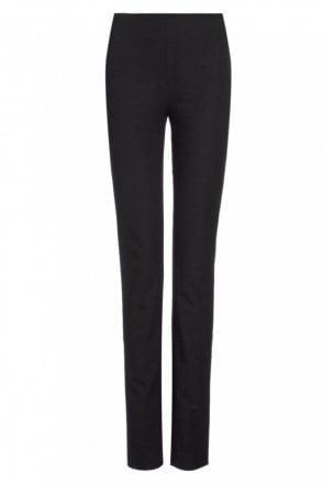 Gabardine Stretch New Tony Trouser in Black