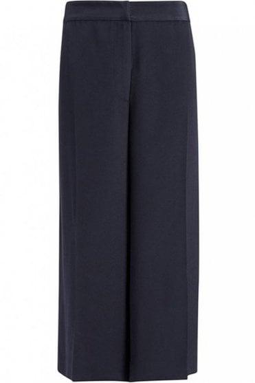 Heavy Silk Rug Trouser in Dark Smoke