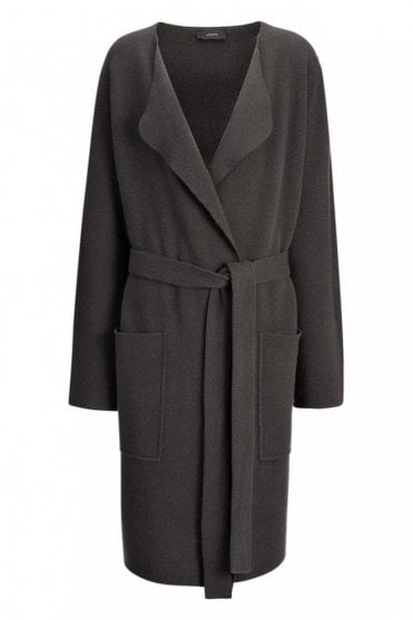 Light Outer Coat in Midnight Blue