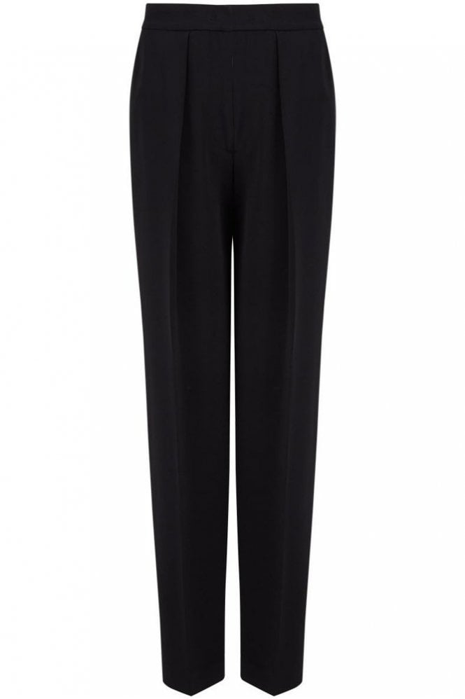 Joseph Viscose Cady Circe Trouser in Black