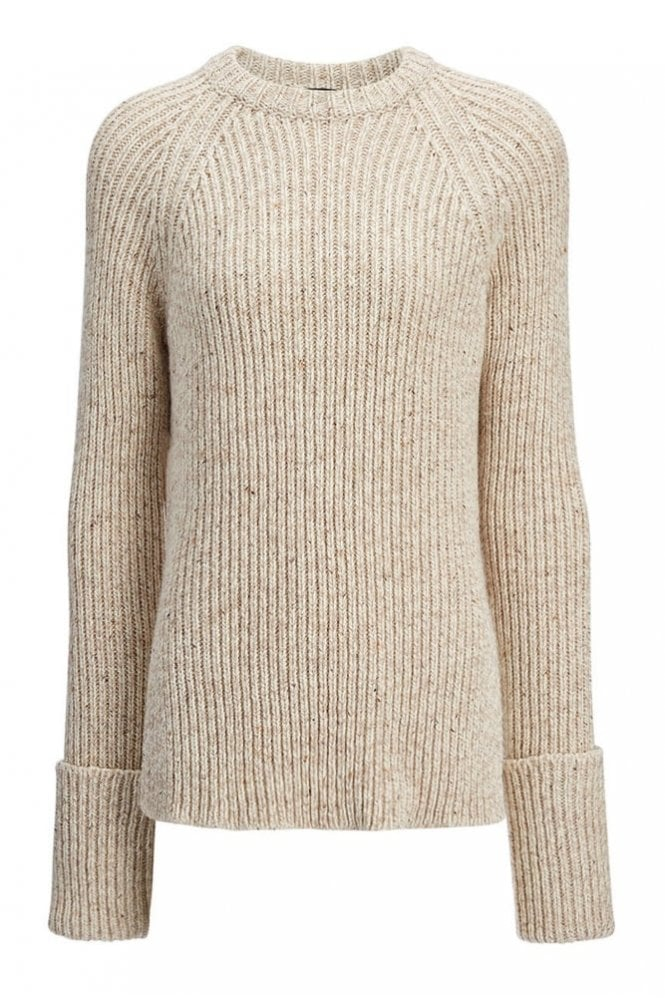 Joseph Wool Melange Top