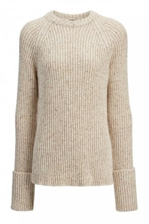 Wool Melange Top