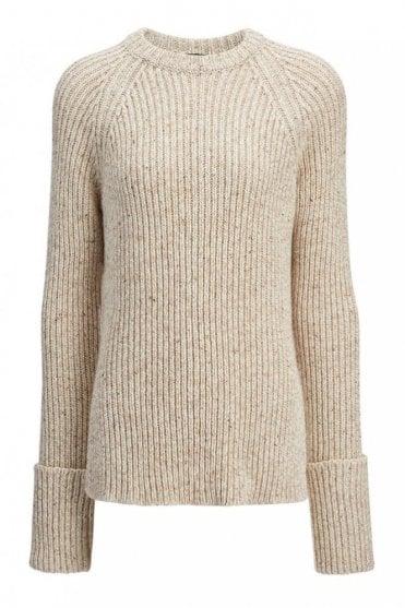 Wool Melange Top
