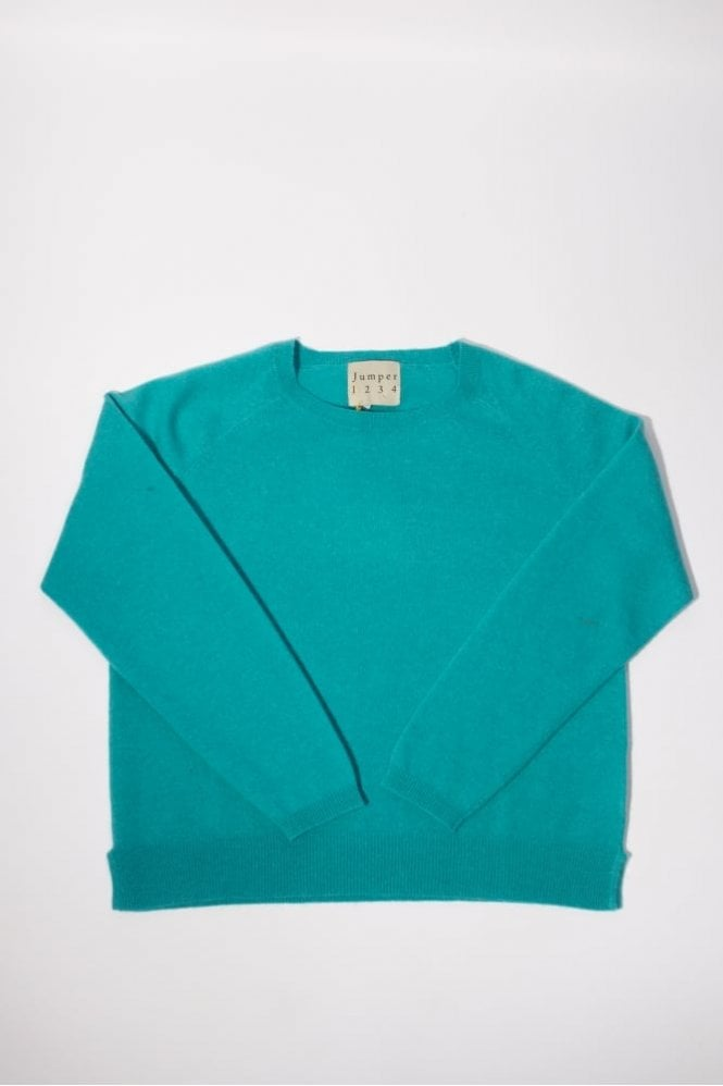 Jumper 1234 Swalk Cashmere Knit in Turquoise