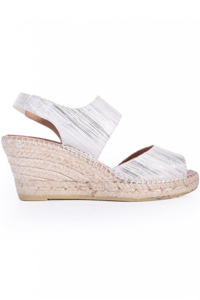Kanna Morbidone Metallic Wedge in Ice