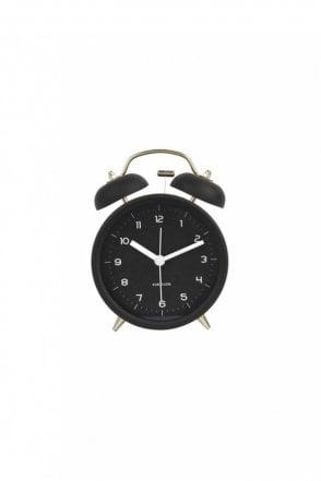 Black Classic Bell Alarm Clock