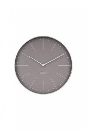 Normann Warm Grey Wall Clock