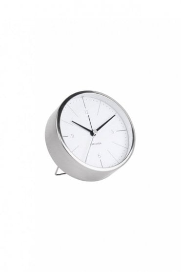 White Normann Alarm Clock