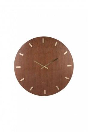 XL Wood Wall Clock