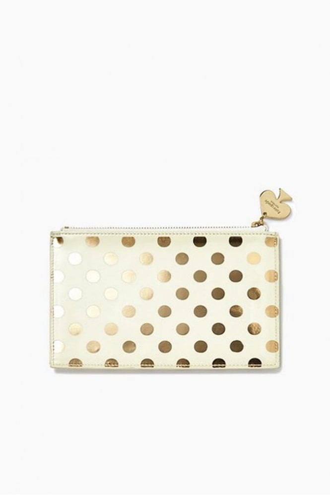 Kate Spade New York Gold Dots Pencil Pouch Set