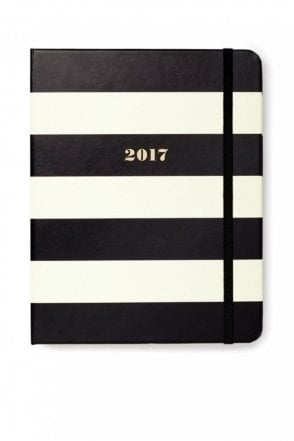 Black Stripe Set The Stage 17-Month Medium Agenda