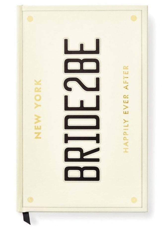 Kate Spade New York Bride 2 Be Bridal Notebook