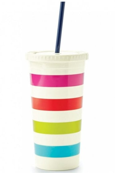 Candy Stripe Insulated Tumbler