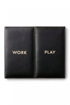 Desktop Weekly Calendar and Folio - Work And Play
