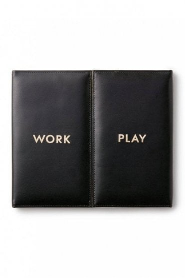 Desktop Weekly Calendar and Folio - Work And Play