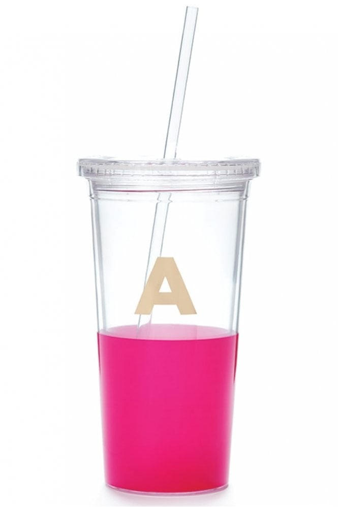 Kate Spade New York Dipped Initial Insulated Tumbler – A