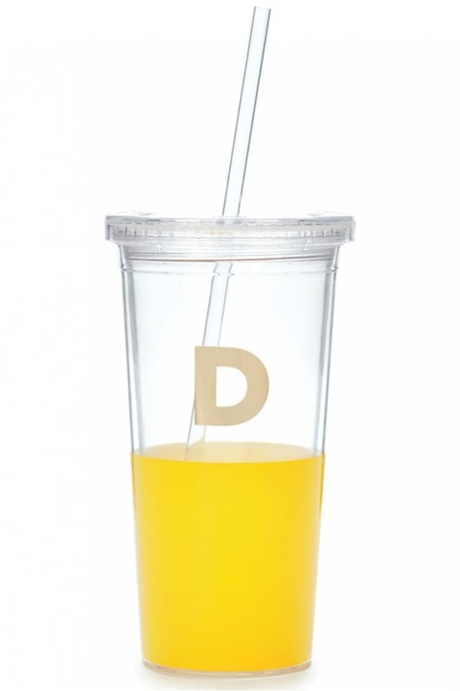Kate Spade New York Dipped Initial Insulated Tumbler – D