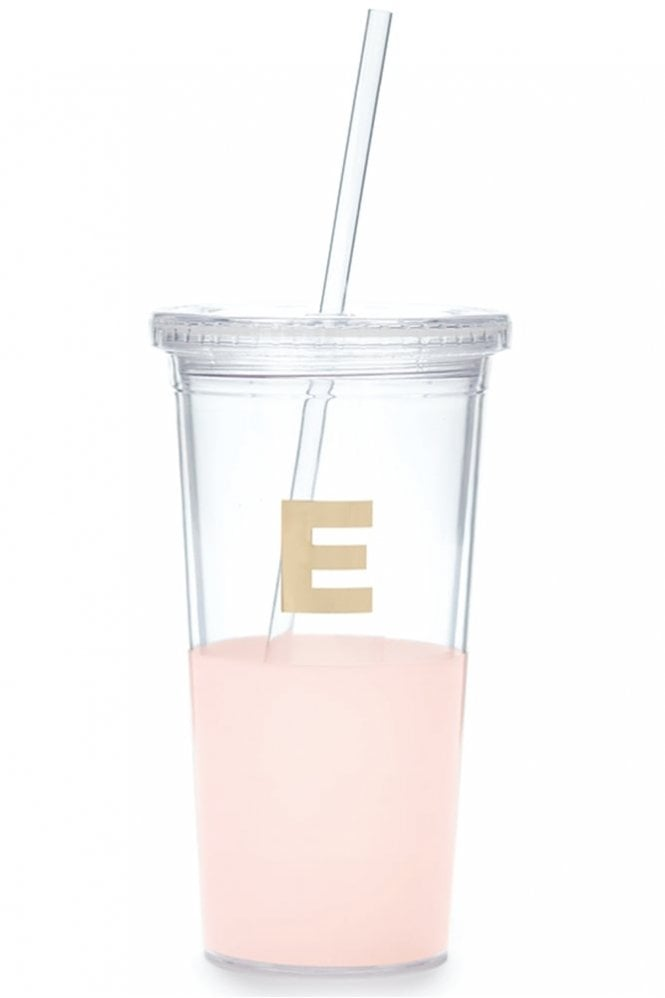 Kate Spade New York Dipped Initial Insulated Tumbler – E