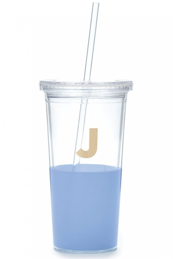 Kate Spade New York Dipped Initial Insulated Tumbler – J