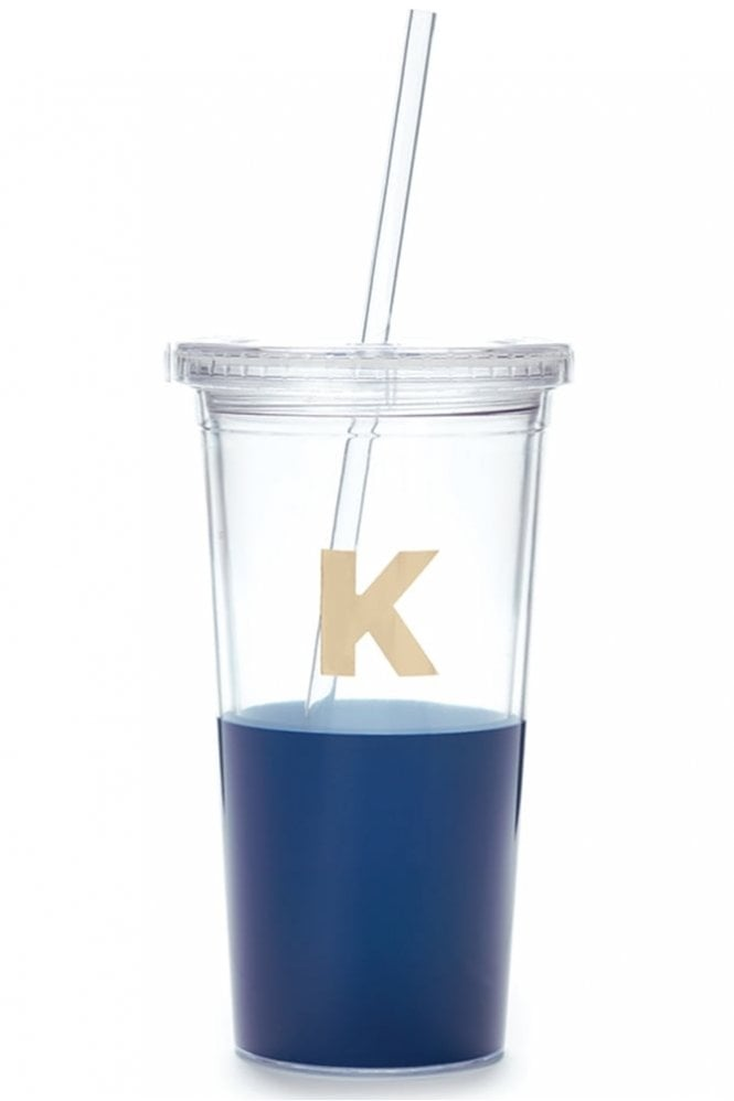 Kate Spade New York Dipped Initial Insulated Tumbler – K