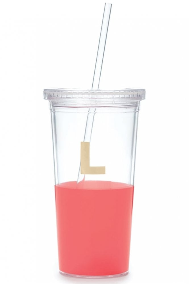 Kate Spade New York Dipped Initial Insulated Tumbler – L
