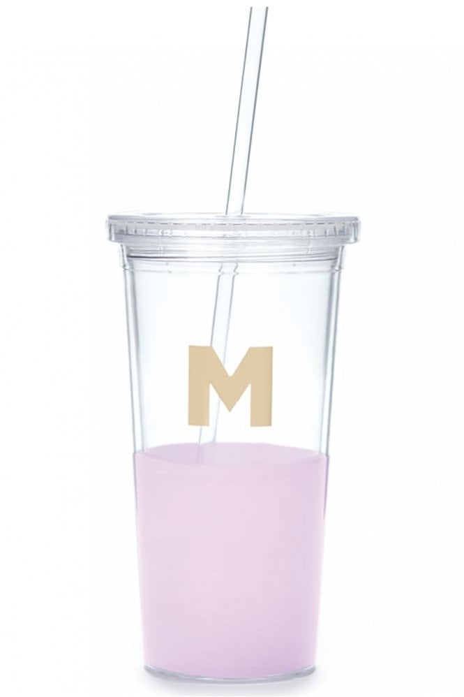 Kate Spade New York Dipped Initial Insulated Tumbler – M