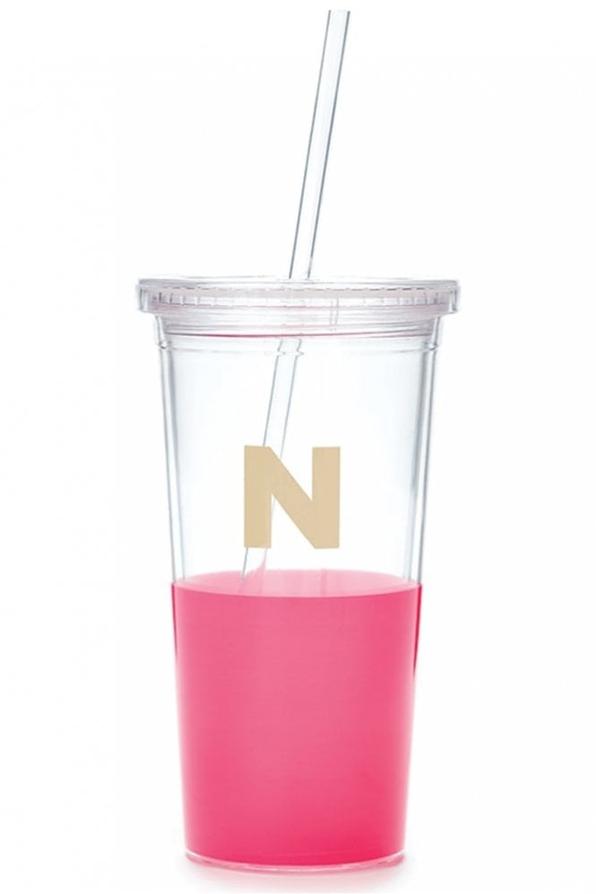 Kate Spade New York Dipped Initial Insulated Tumbler – N