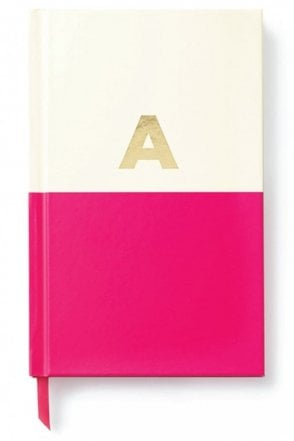 Dipped Initial Notebook – A