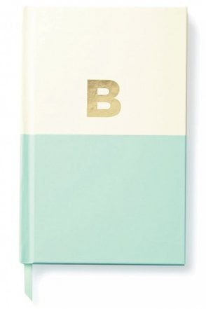 Dipped Initial Notebook – B