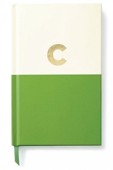 Dipped Initial Notebook – C