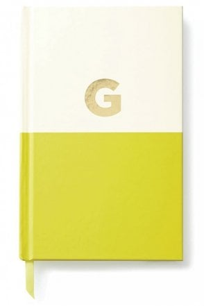 Dipped Initial Notebook – G