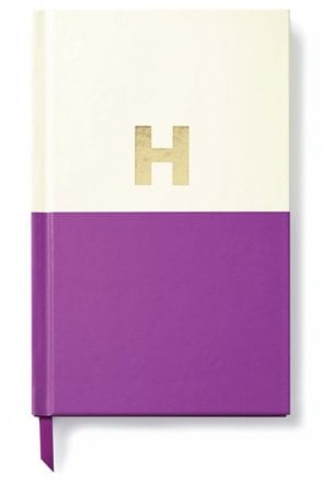 Dipped Initial Notebook – H