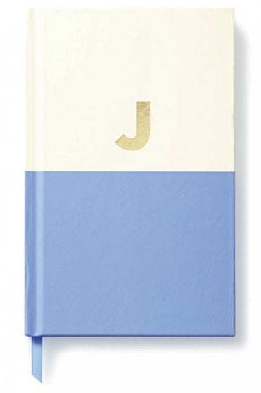Dipped Initial Notebook J