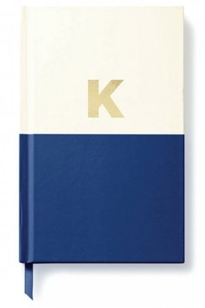 Dipped Initial Notebook – K