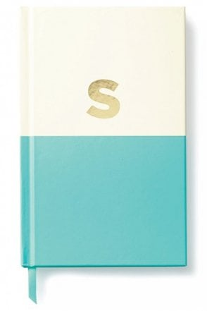 Dipped Initial Notebook S