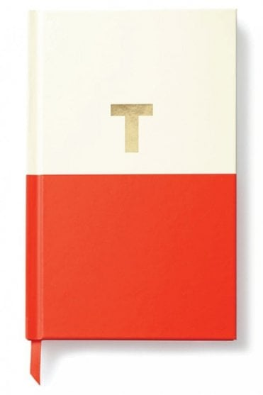 Dipped Initial Notebook – T