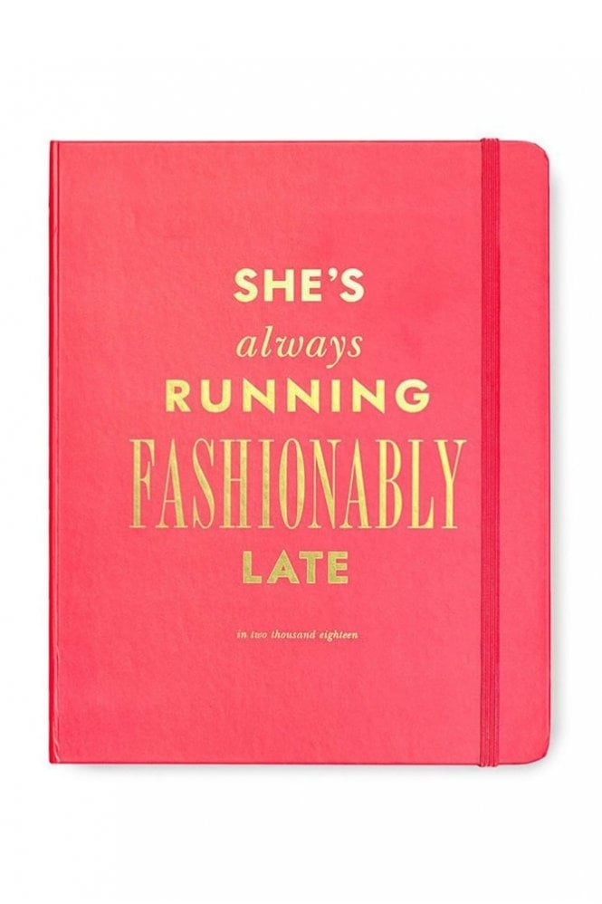 Kate Spade New York Fashionably Late 17-Month Large Agenda