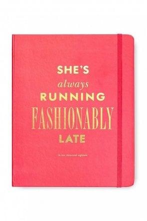Fashionably Late 17-Month Large Agenda
