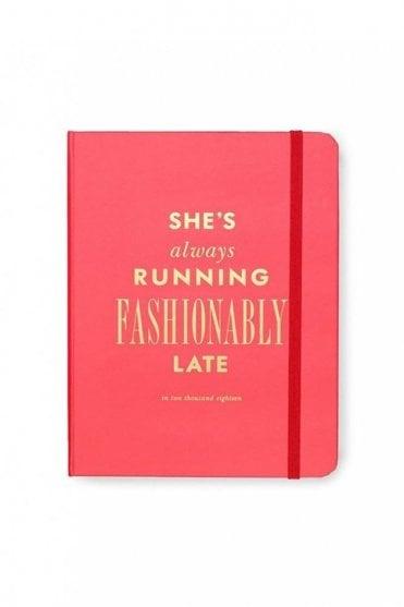 Fashionably Late 17-Month Medium Agenda