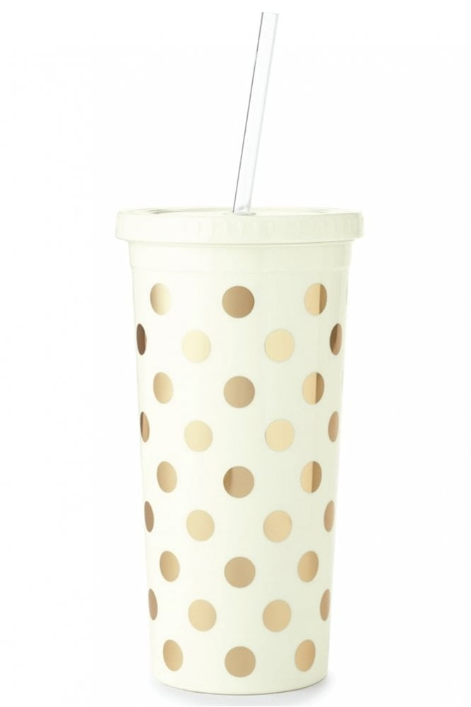 Kate Spade New York Gold Dots Insulated Tumbler