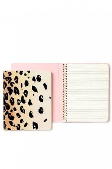 Leopard Concealed Spiral Notebook