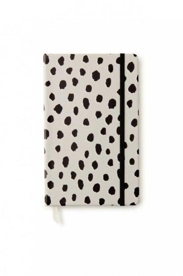 Mini Notebook With Pen - Flamingo Dot