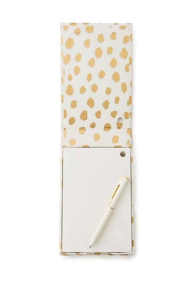 b8e7e8af957 Kate Spade New York Notecube with Pen – Gold Flamingo Dot