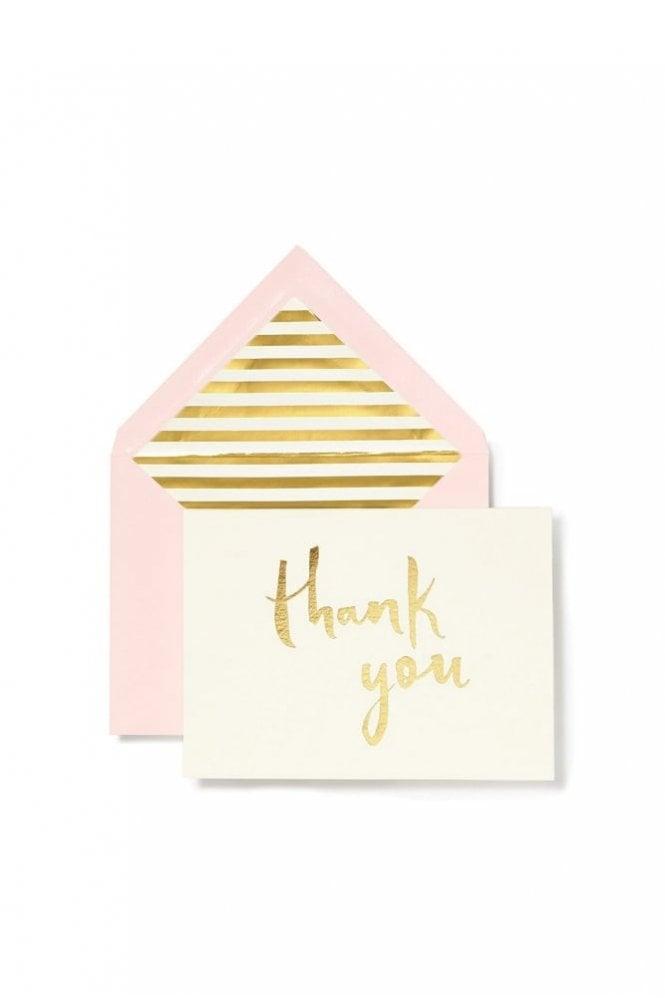 Kate Spade New York Paintbrush Thank You Card Set