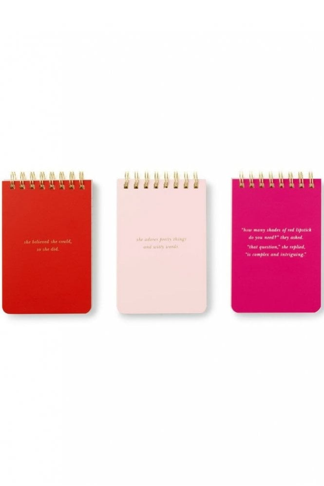 Kate Spade New York Spiral Notepad Set - She Statements